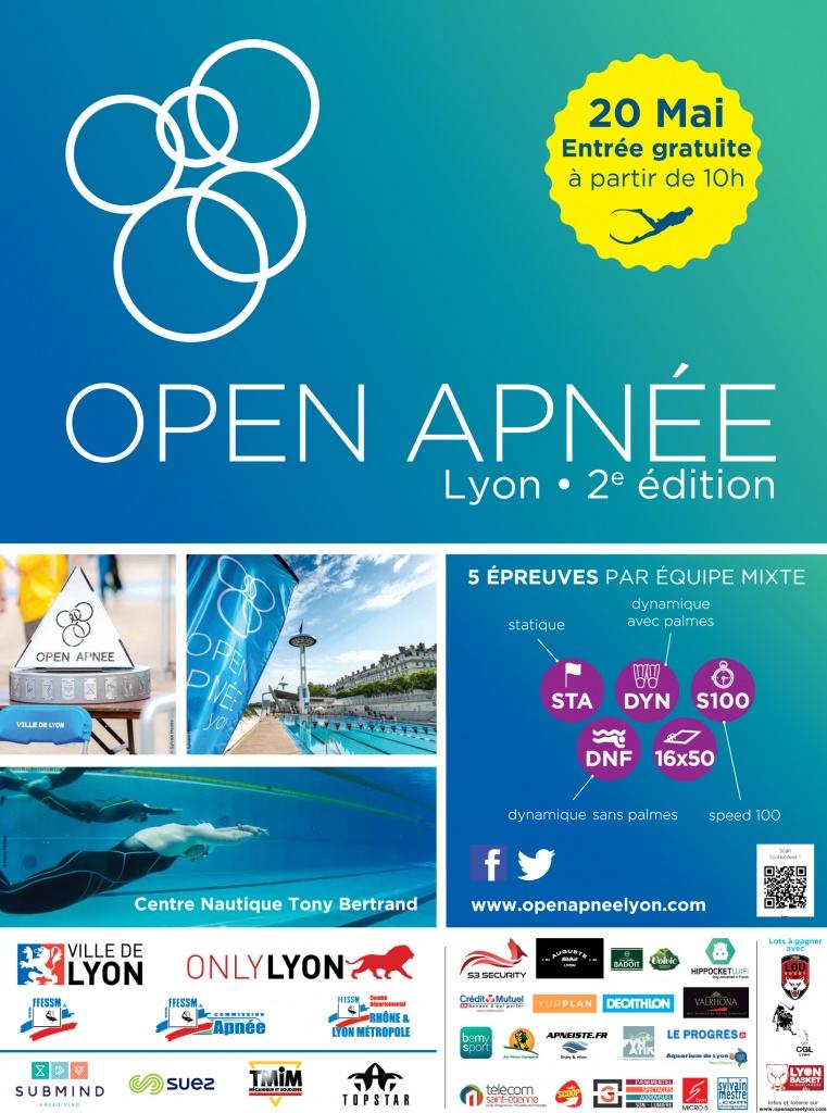 Open Apnee 2017 Affiche-logos